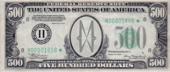 $500 MW Gift Certificate Winner
