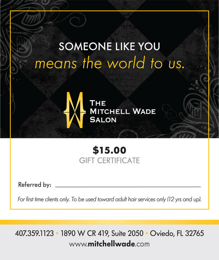 Referral Program Hair Salon